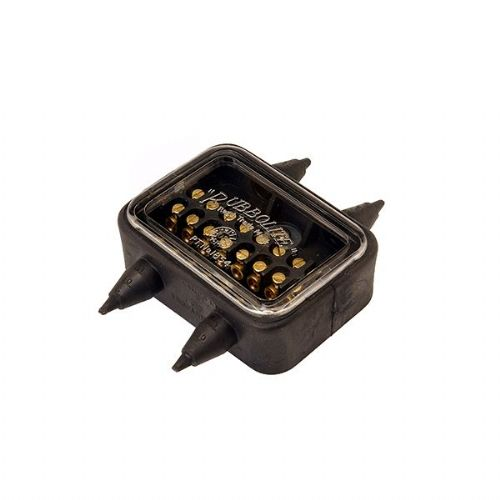 8-Way Junction Box with Natural Rubber Housing-108/01/00PP